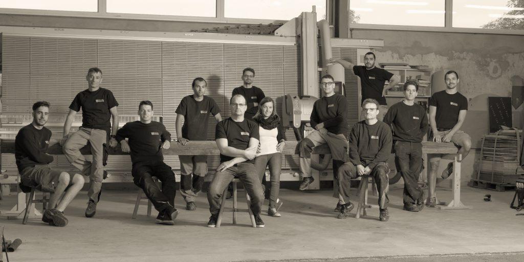 Das Team der Tischlerei Thomas Wähner - Experten für Innenausbau und Spezialanfertigung aus Holz